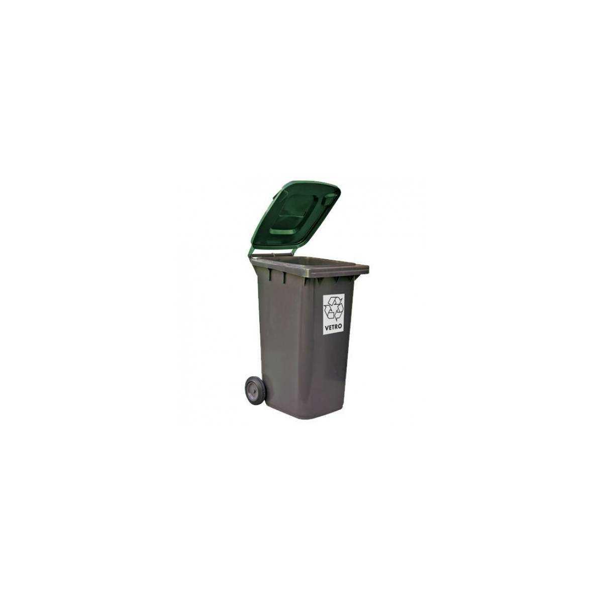 Контейнер для мусора 240л (5291GR) 5291GR Mar Plast