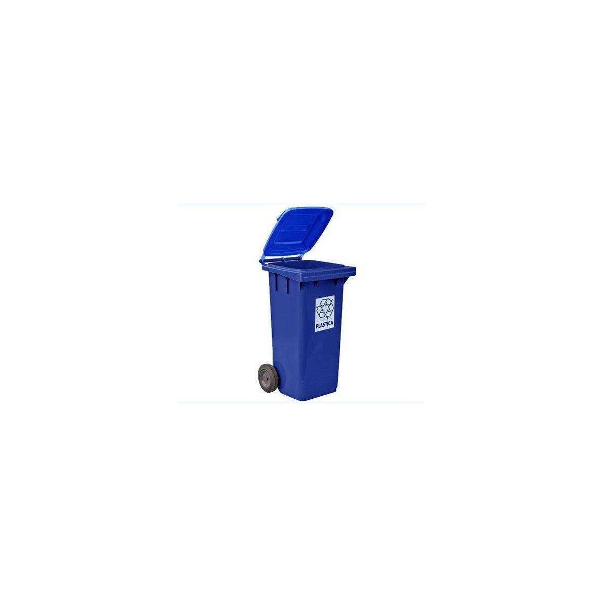 Контейнер для мусора 240л (5291B) 5291B Mar Plast