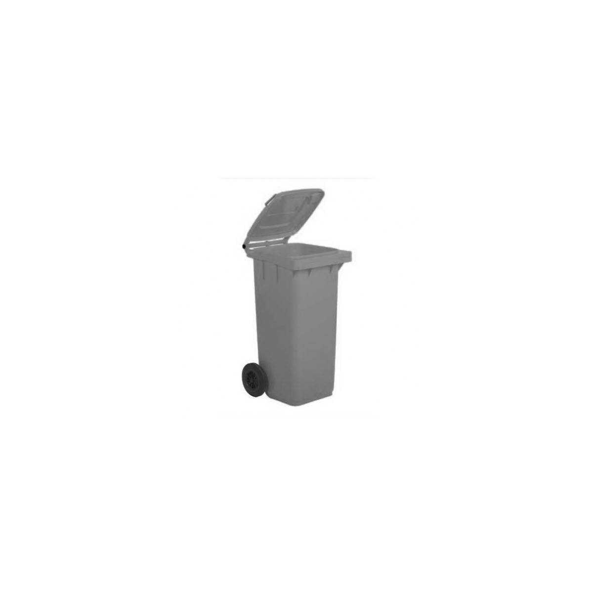 Контейнер для мусора 120л (5050GRB) (Серого цвета) 5050GRB Mar Plast