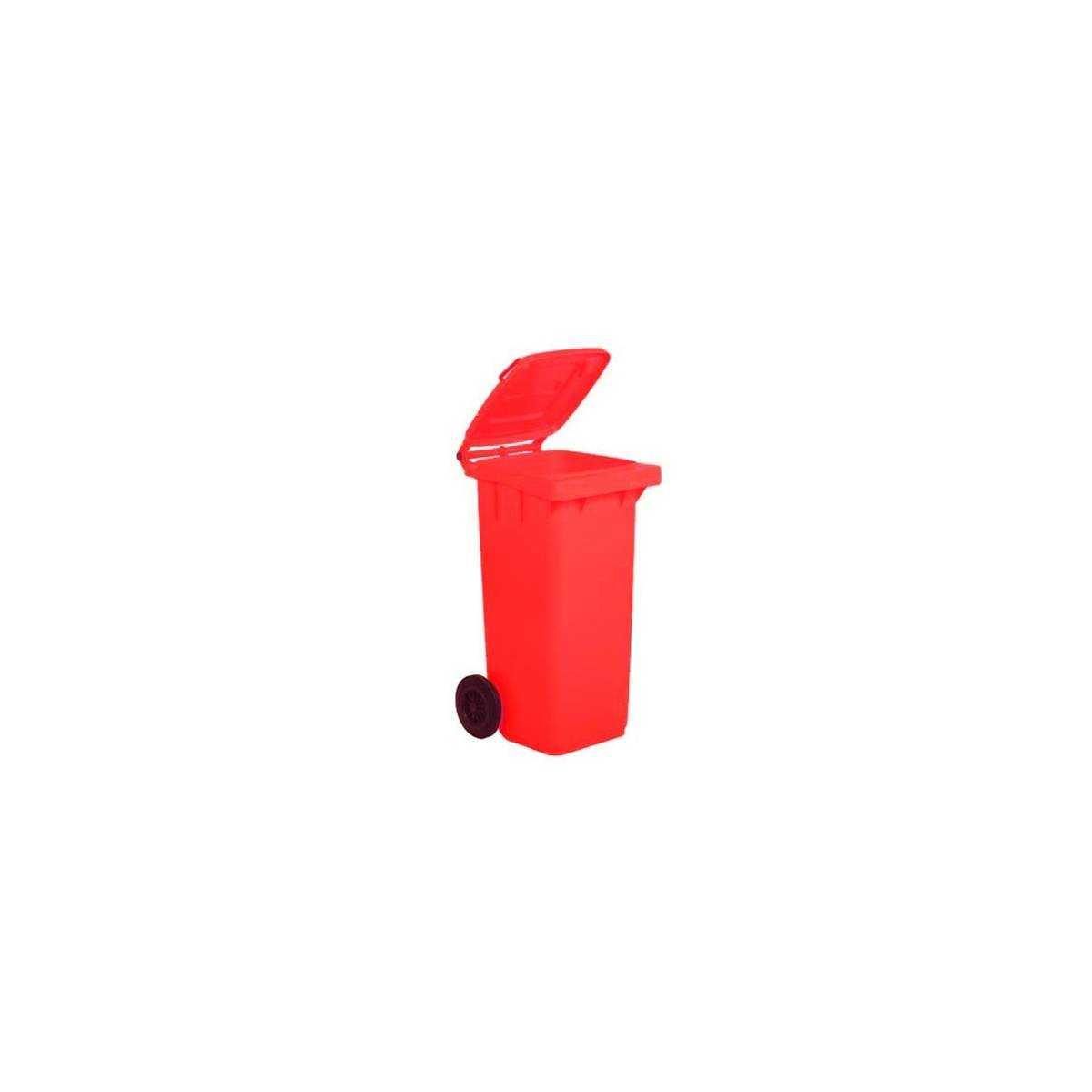 Контейнер для мусора 120л (5050R) (Красного цвета) 5050R Mar Plast