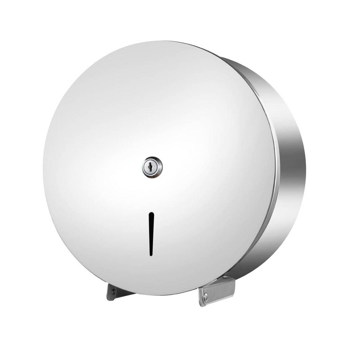 Диспенсер туалетной бумаги Jumbo WС нержавеющая сталь Ø20cm 209401 Noksi