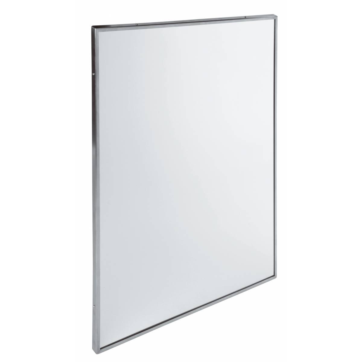 Зеркало из нержавеющей стали с окантовкой (EP0350CS) EP0350CS Mediclinics
