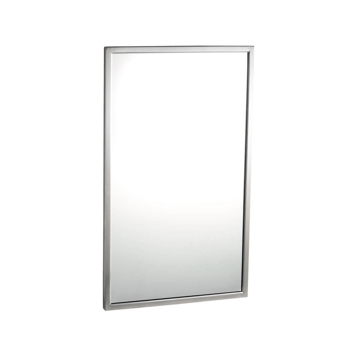 Зеркало с окантовкой из нержавеющей стали 2901830 Bobrick