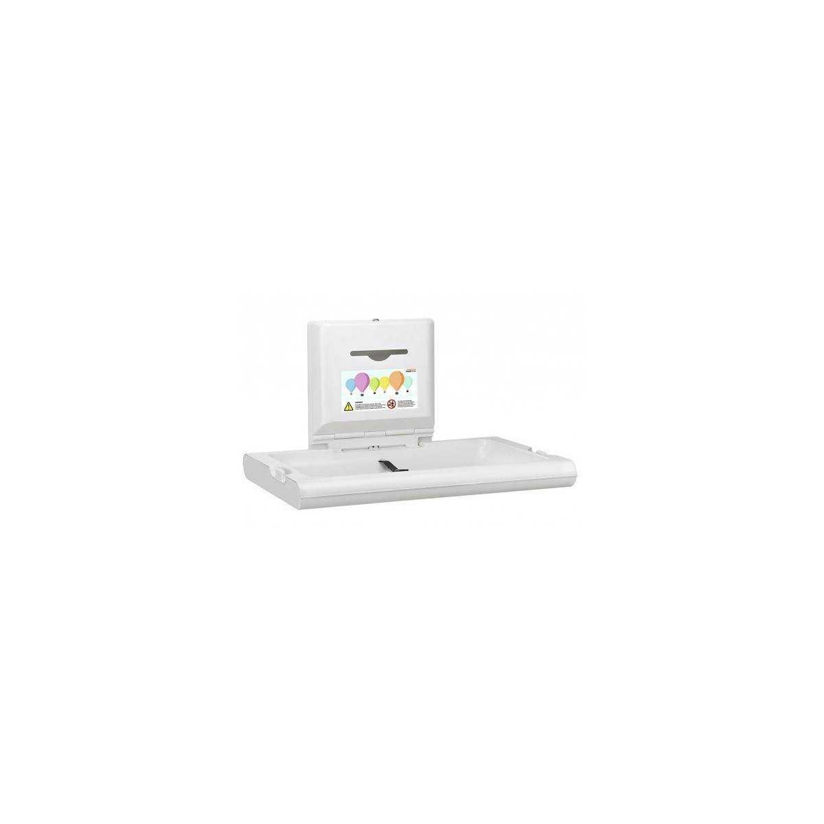 Пеленальный столик настенный откидной горизонтальный (CP0016H) CP0016H Mediclinics