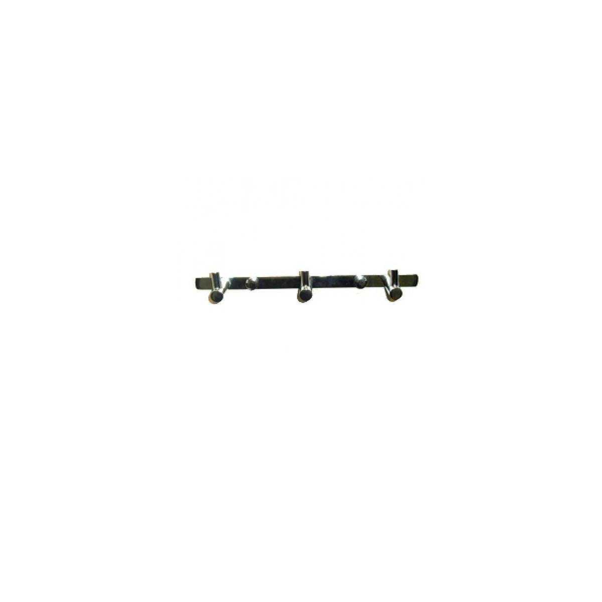 Держатель полотенец металлический на 3 крючка (7202) 7202 Gatto