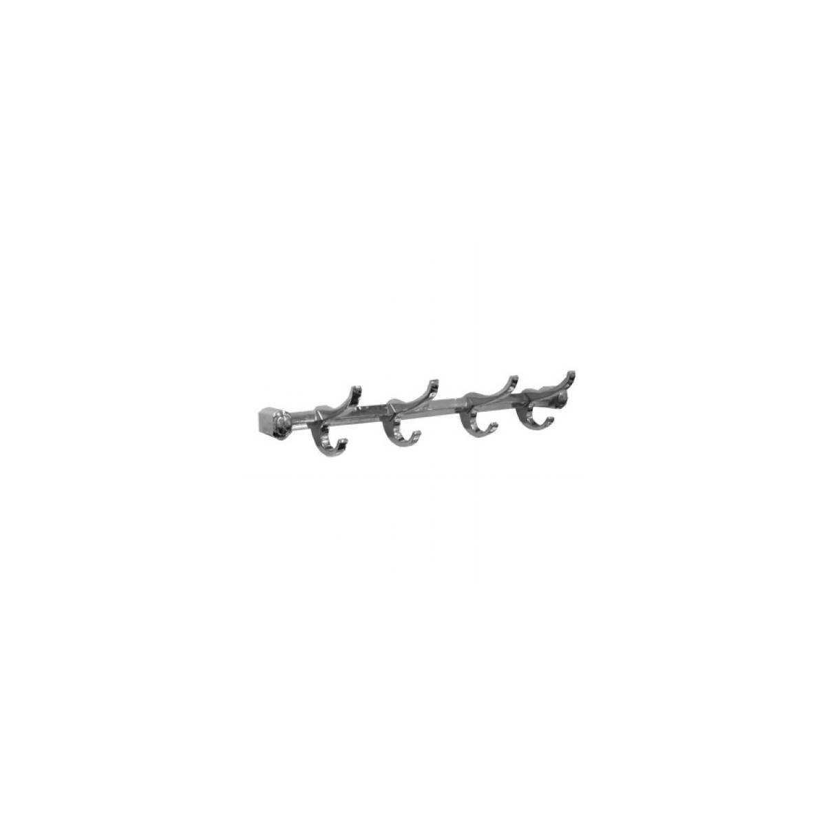 Держатель полотенец металлический на 4 крючка (5740) 5740 Gatto