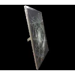 Зеркало с противоударным покрытием и окантовкой из нержавеющей стали 150302 Noksi