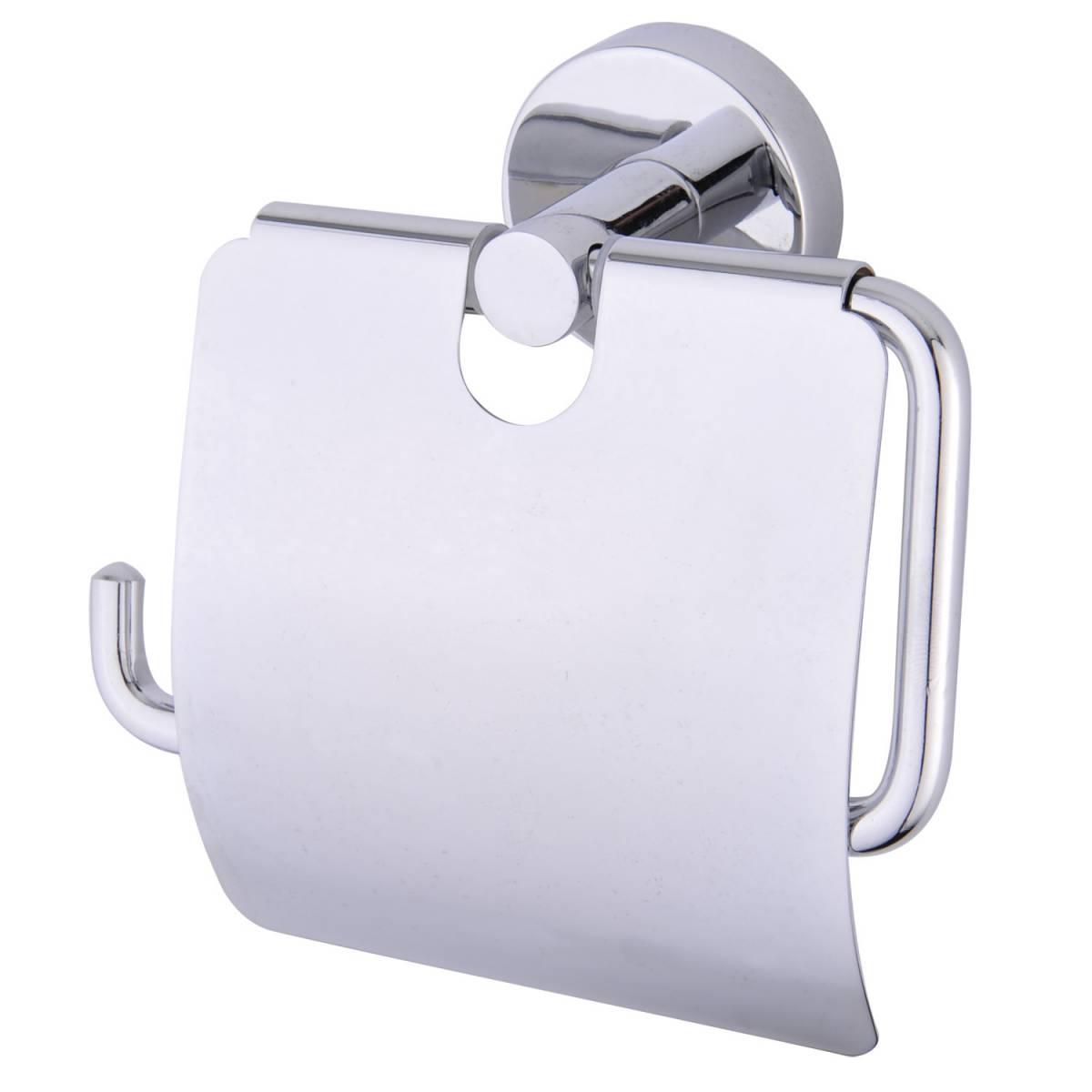 """Держатель бумаги туалетной \\""""NEPTUN\\"""", с декоративной вставкой 900817 Noksi"""