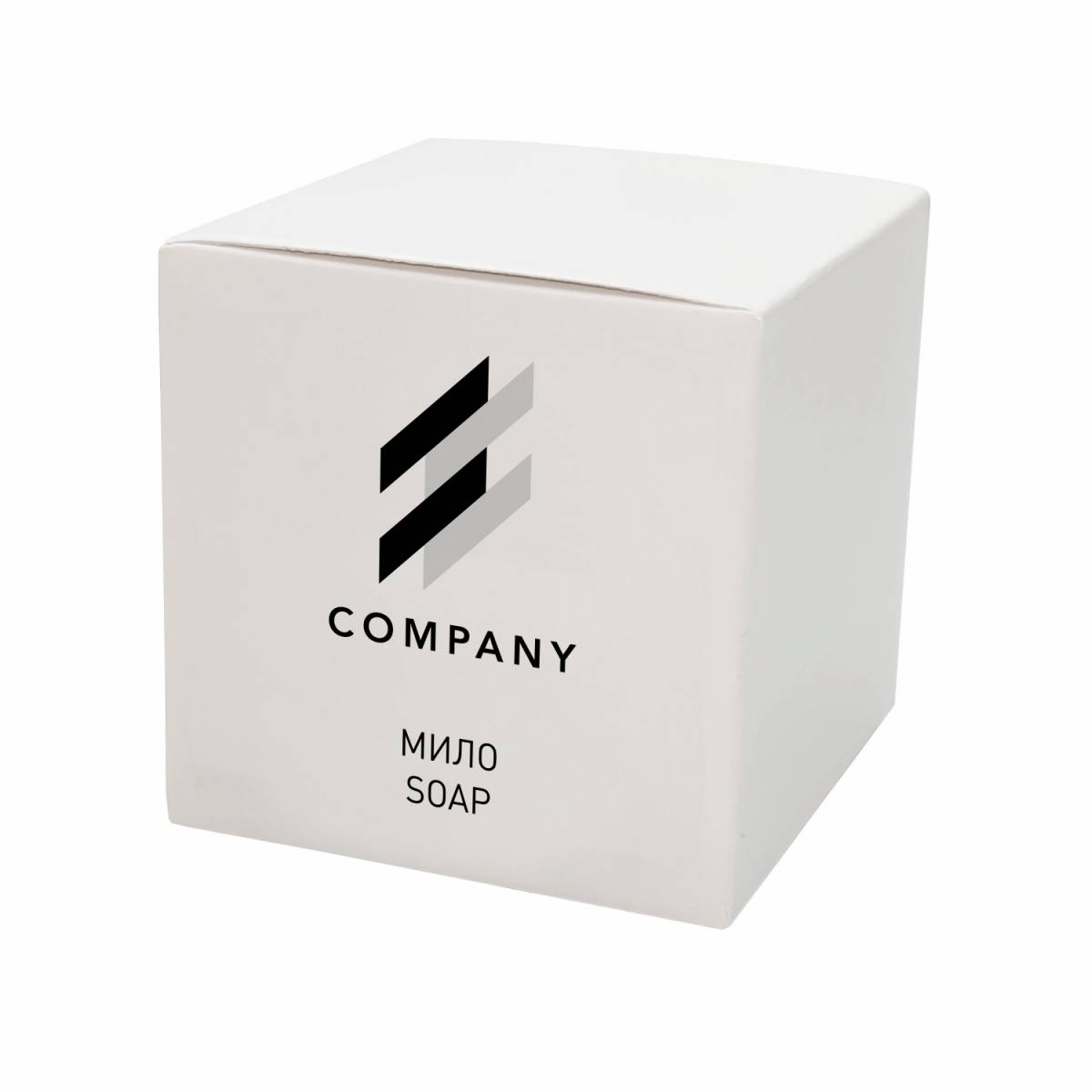 Мило 15 гр в коробочке с логотипом заказчика SO15-3L HSG