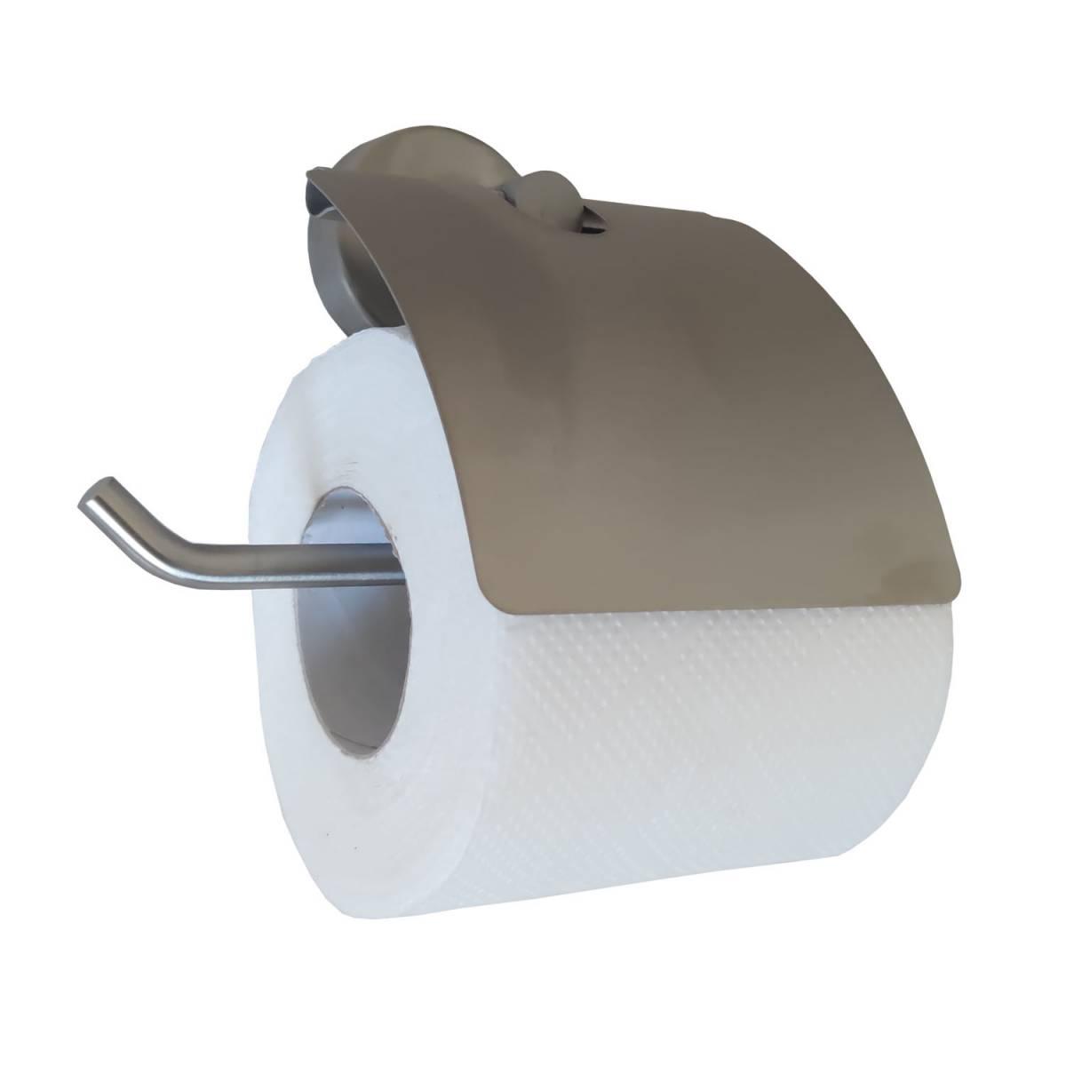 """Держатель бумаги туалетной \\""""AVATAR\\"""", с декоративной вставкой 895107 Noksi"""