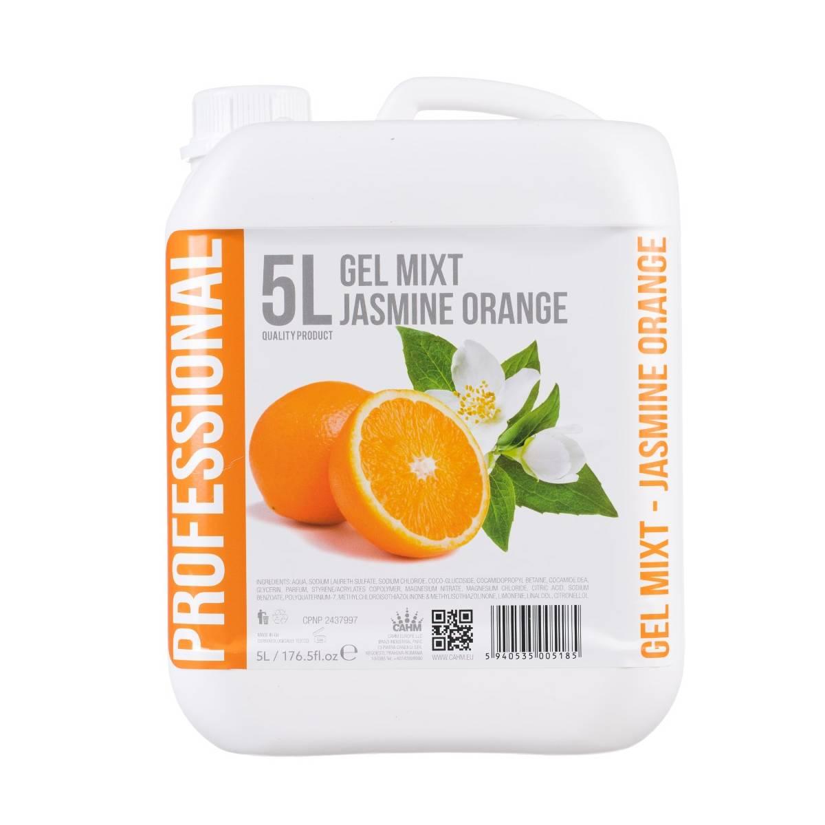 Гель 2в1 Professional Жасмин и Апельсин 5 л, для волос и тела 71010 CAHM