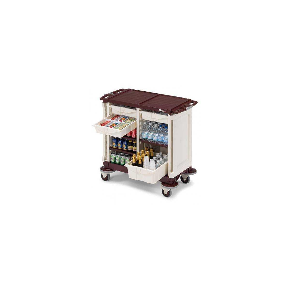 Тележка гостиничная Минибар Solutions M300R02N30310 TTS