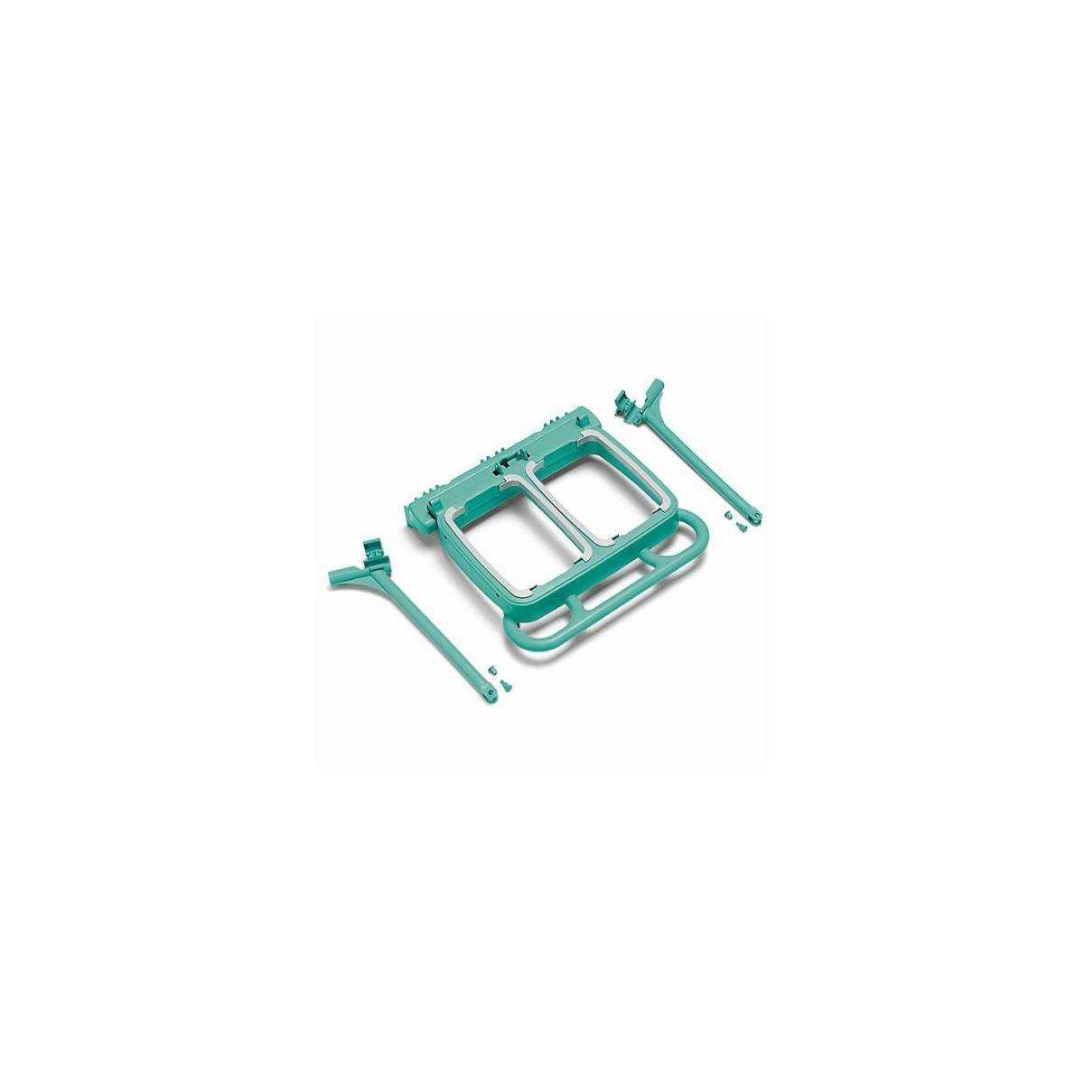 Складной держатель мешка 2*70л для тележек GreenLine (S070340) S070340 TTS