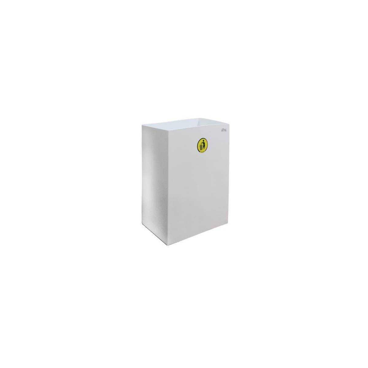 Урна для мусора 60л S-LINE (M 160W) M-160W Атма
