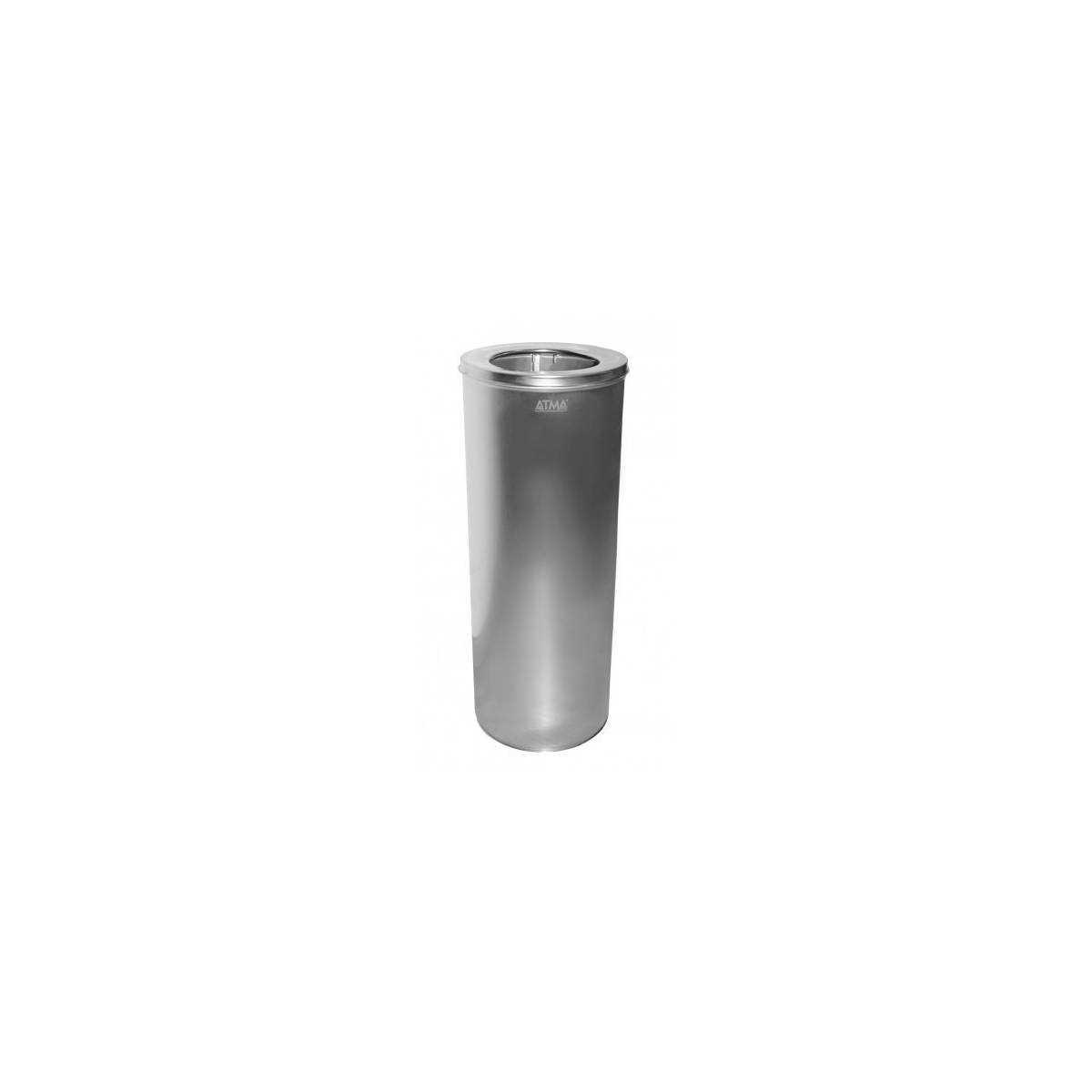 Урна для мусора 25л R-LINE с крышкой и держателем мешка (M 825S) M-825S Атма