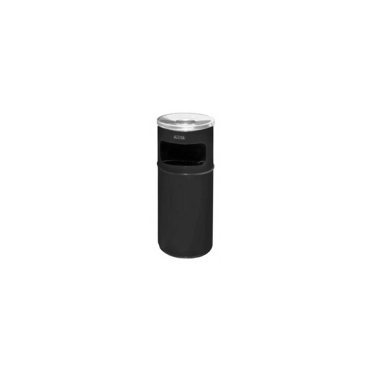 Урна-пепельница 15л R-LINE (A 500Black) A-500Black Атма