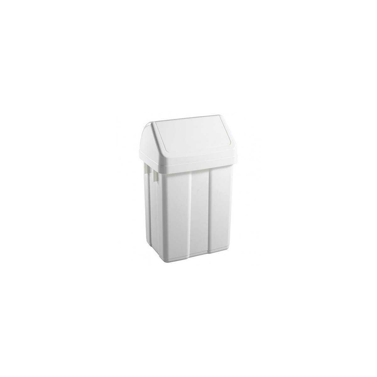 Урна для мусора с поворотной крышкой 25л MAXI (5200) 00005200 TTS