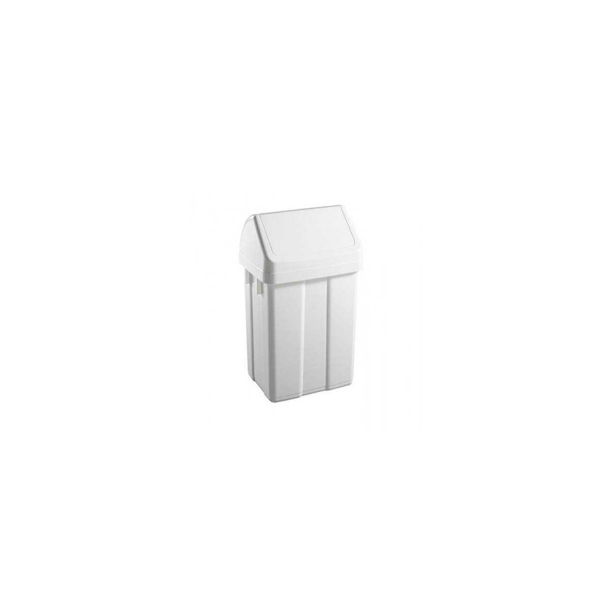 Урна для мусора с поворотной крышкой 12л (5220) 00005220 TTS