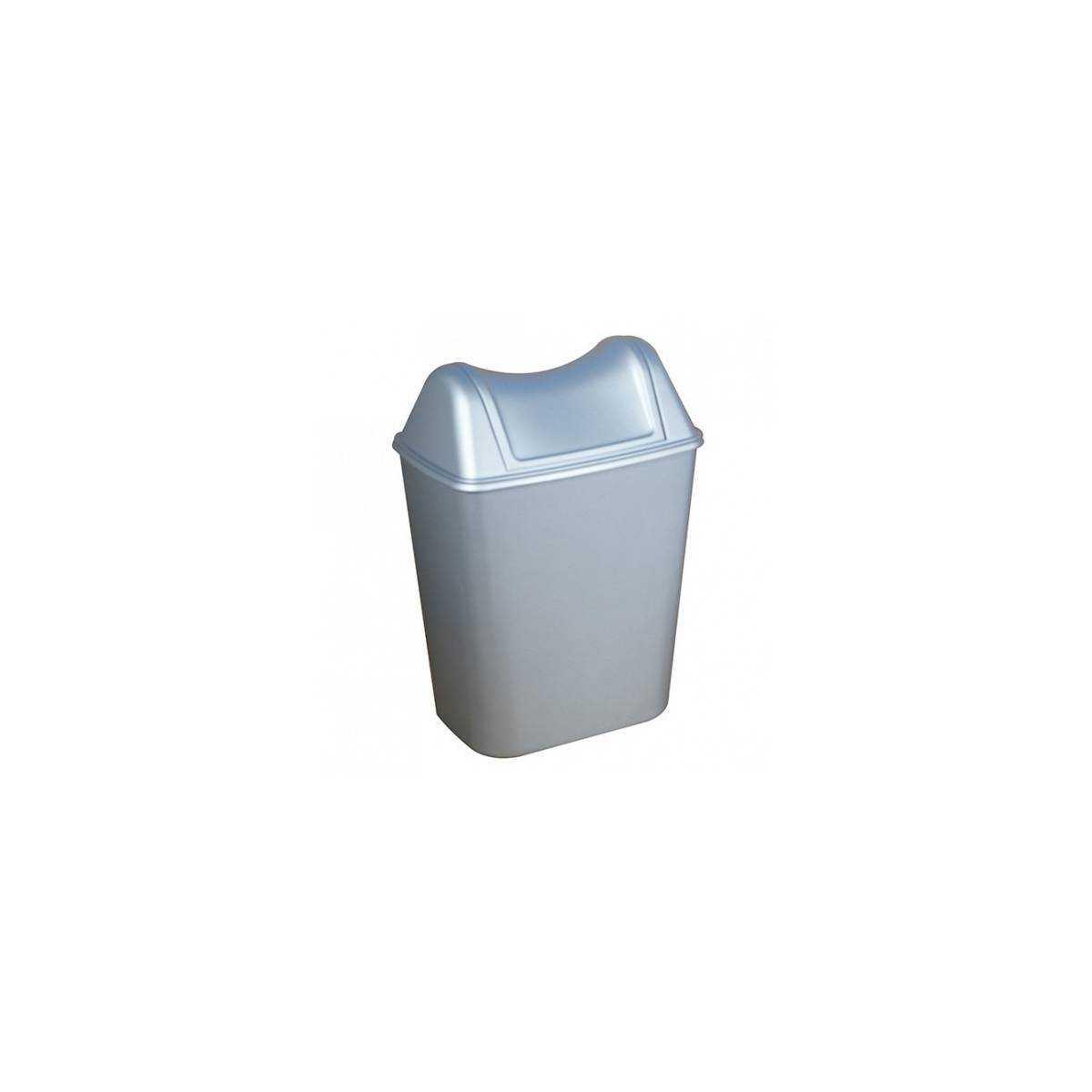Урна для мусора с поворотной крышкой 8л ACQUALBA (579+580SAT) 579+580SAT TTS