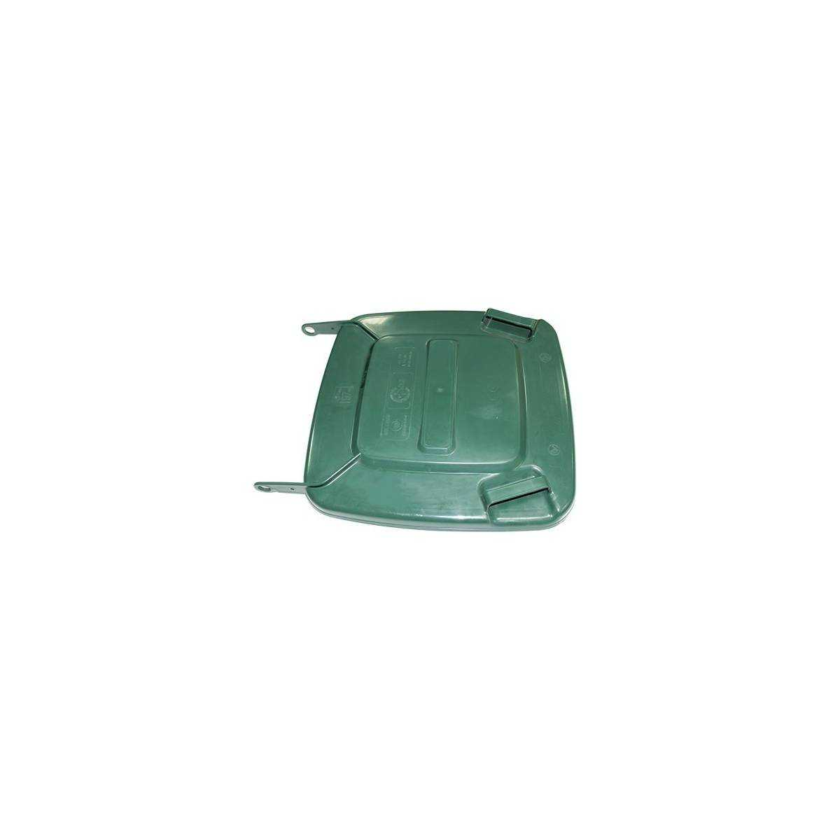 Крышка для контейнера (G) Кришка для контейнера 5050(120л) зеленого кольору TTS