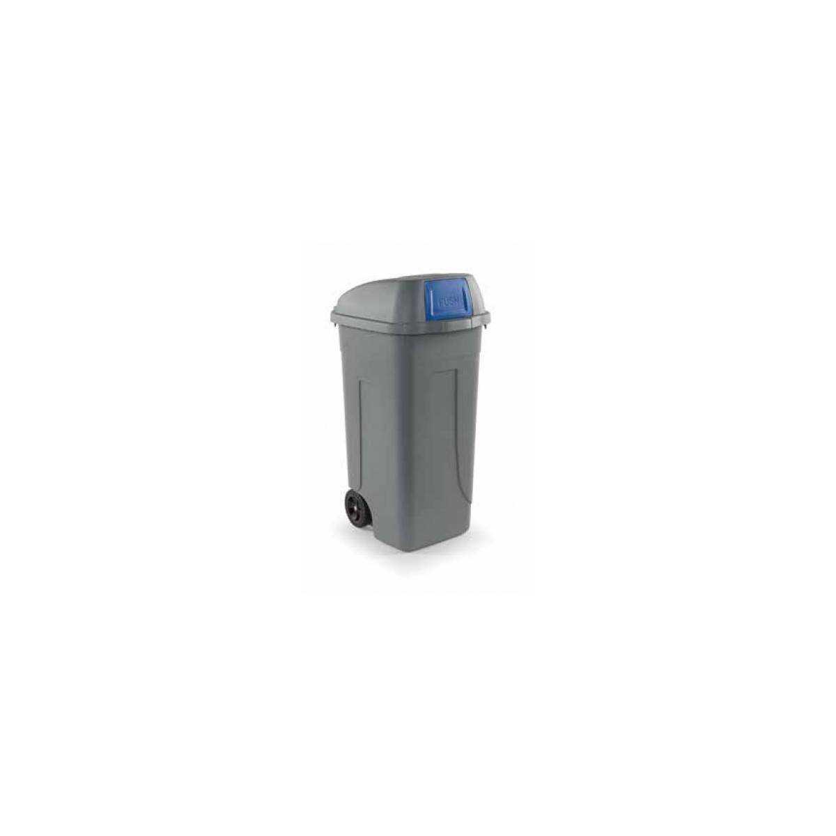 Контейнер для мусора 100л PUSH (100P-BLB) 100P-BLB