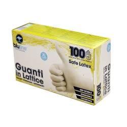 Перчатки латексные 100шт. SAFE LATEX - S