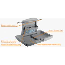 Пеленальный столик настенный откидной горизонтальный (ZG-8001) ZG-8001 Zinger