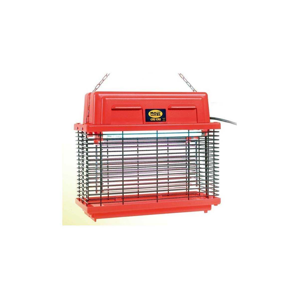 Уничтожитель летающих насекомых CriCri-309FR FLUO (Красный) PS-309FR MO-EL