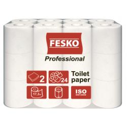 Туалетная бумага Fesko 17,3 м (24 рул.)