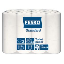 """Туалетная бумага 9,9 метра \\""""Fesko\\"""" (24 рул.)"""