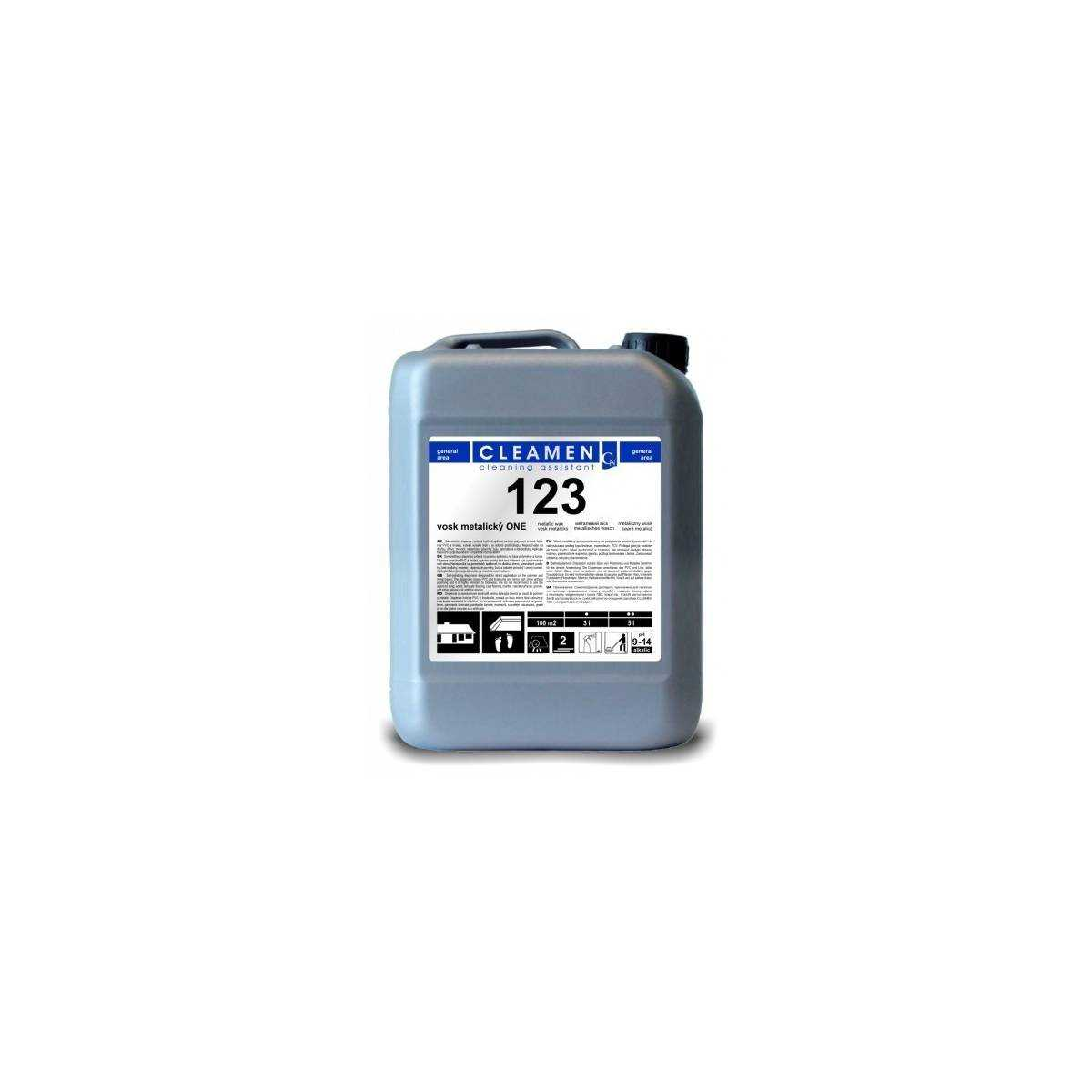 Защитное покрытие для линолеума Cleamen 123 5л VC123050099 ECOCHEM