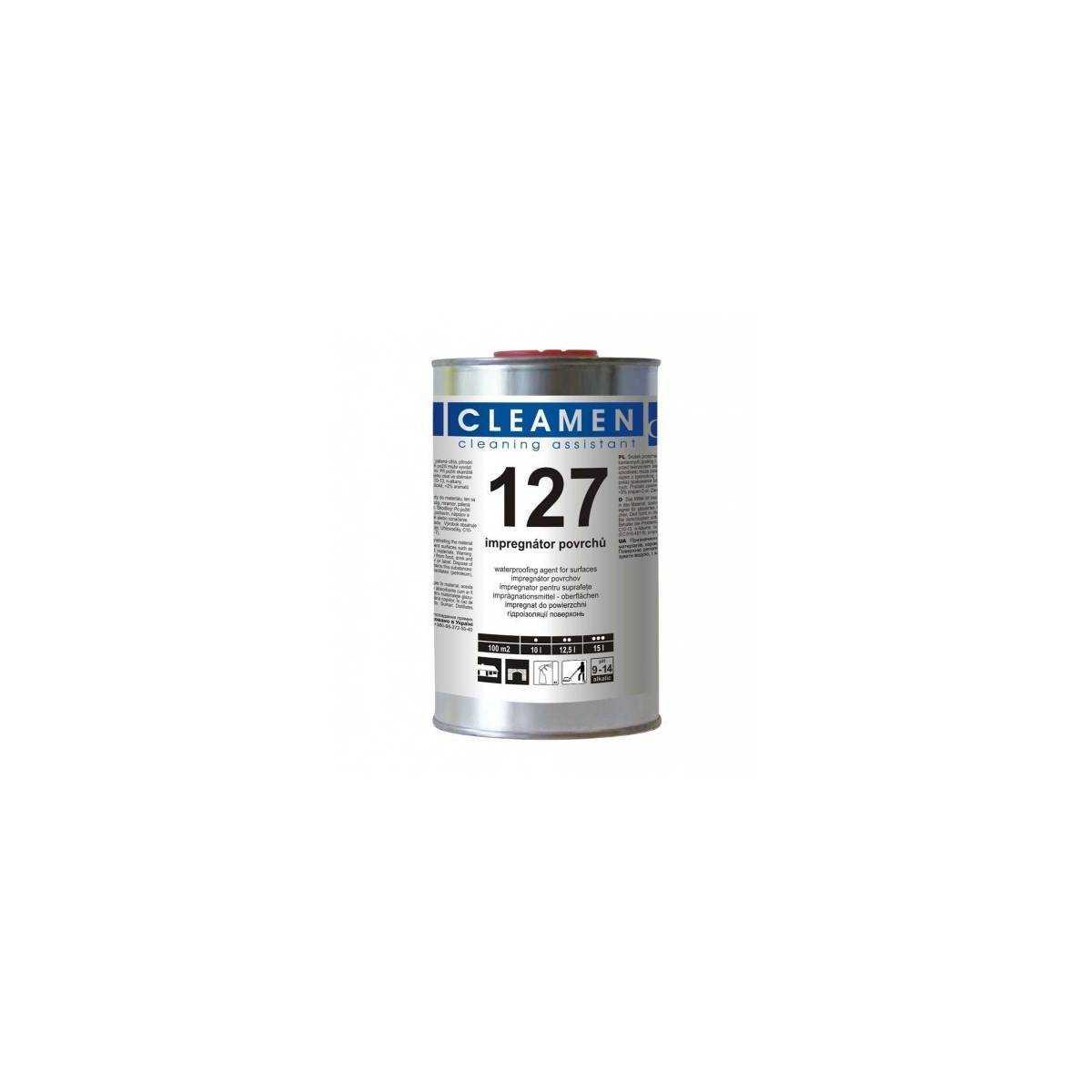 Защитное покрытие для пористых поверхностей Cleamen127 1л VC127010099 ECOCHEM