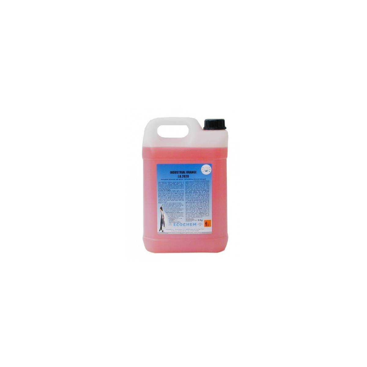 Средство моющее с полирующим эффектом 5кг I.O.2020 Industrial Orange ECOCHEM