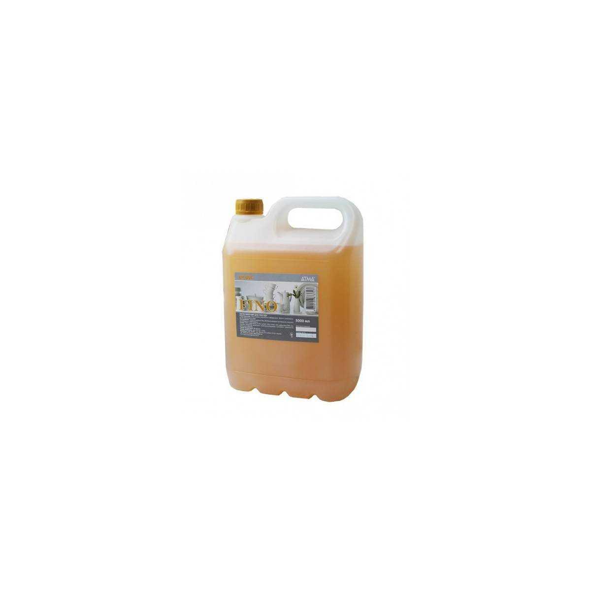 Средство для ручного мытья посуды FINO 5л  DW 145000 Атма