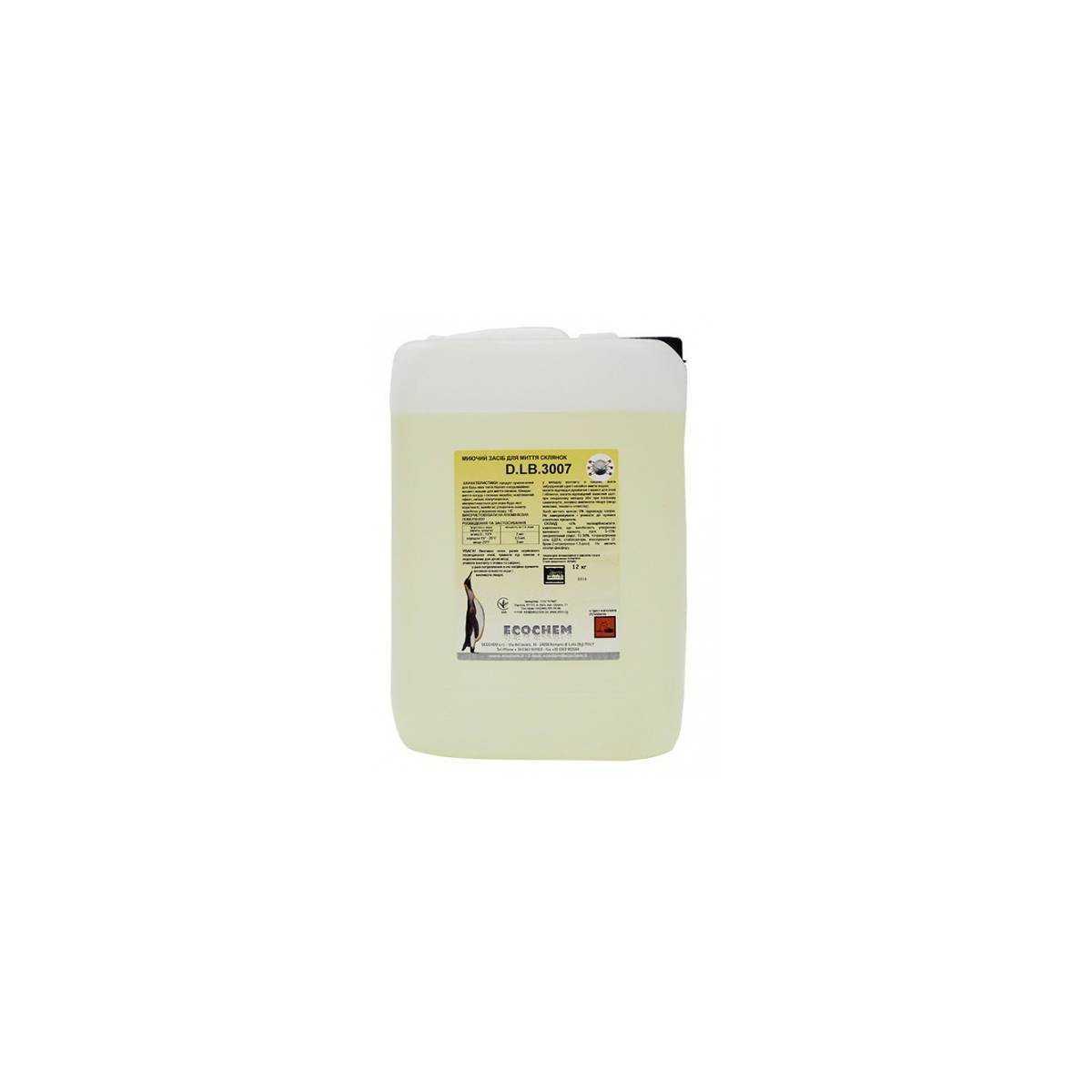 Средство для мытья стеклянной посуды 12кг D.LB.3007 ECOCHEM