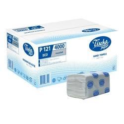 Полотенца бумажные ECO (ящик/20 пачек по 200 листов)