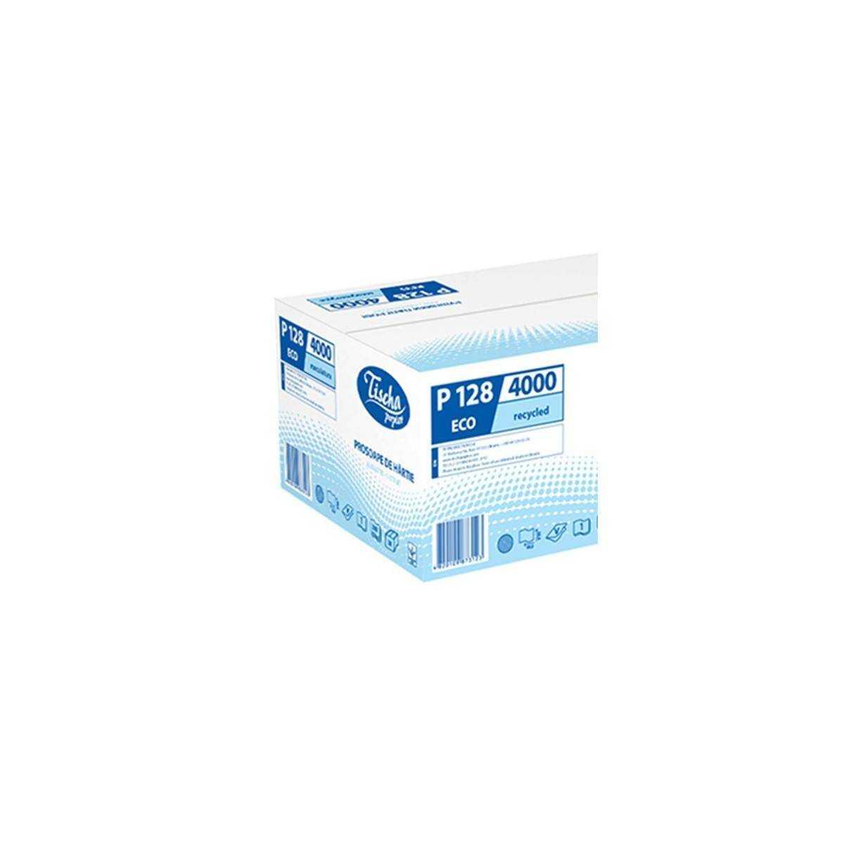 Полотенца бумажные ECO (ящик/20 пачек по 200 листов) P128 Tischa Papier