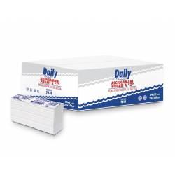 Полотенца бумажные Carind Daily (Z-складка, ящик-25 пачек по 120 листов)