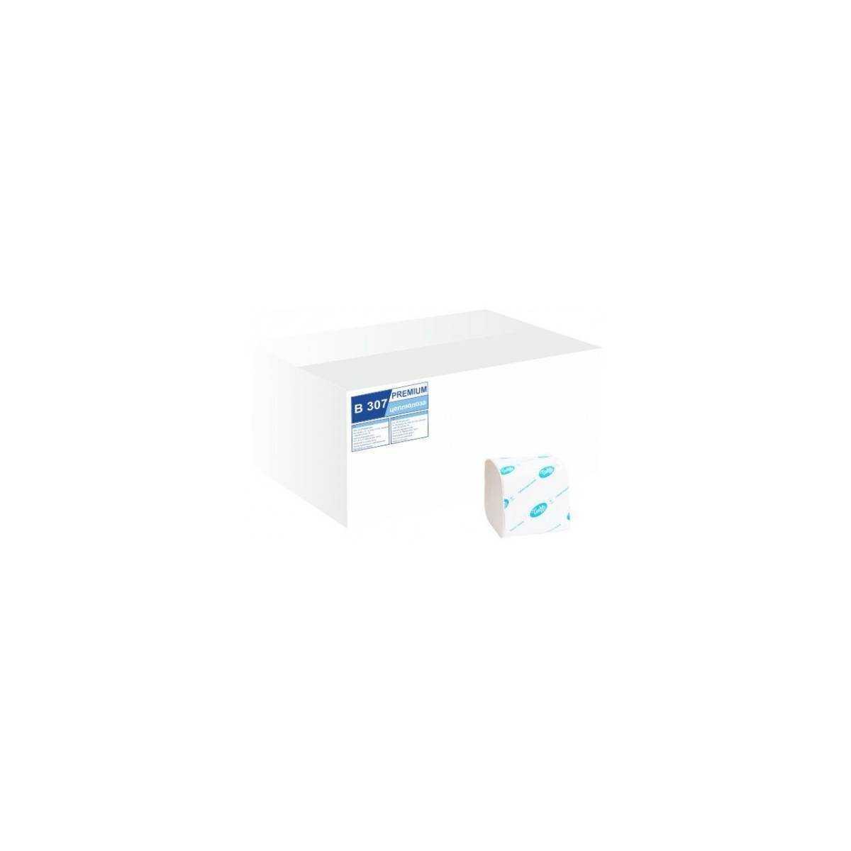 Туалетная бумага в пачке BASIC (B307) B307 Tischa Papier