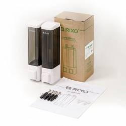 Дозатор жидкого мыла Rixo Lungo 2Х180 мл SW011W Rixo