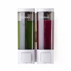 Дозатор жидкого мыла Rixo Lungo 2Х200 мл SW013W Rixo