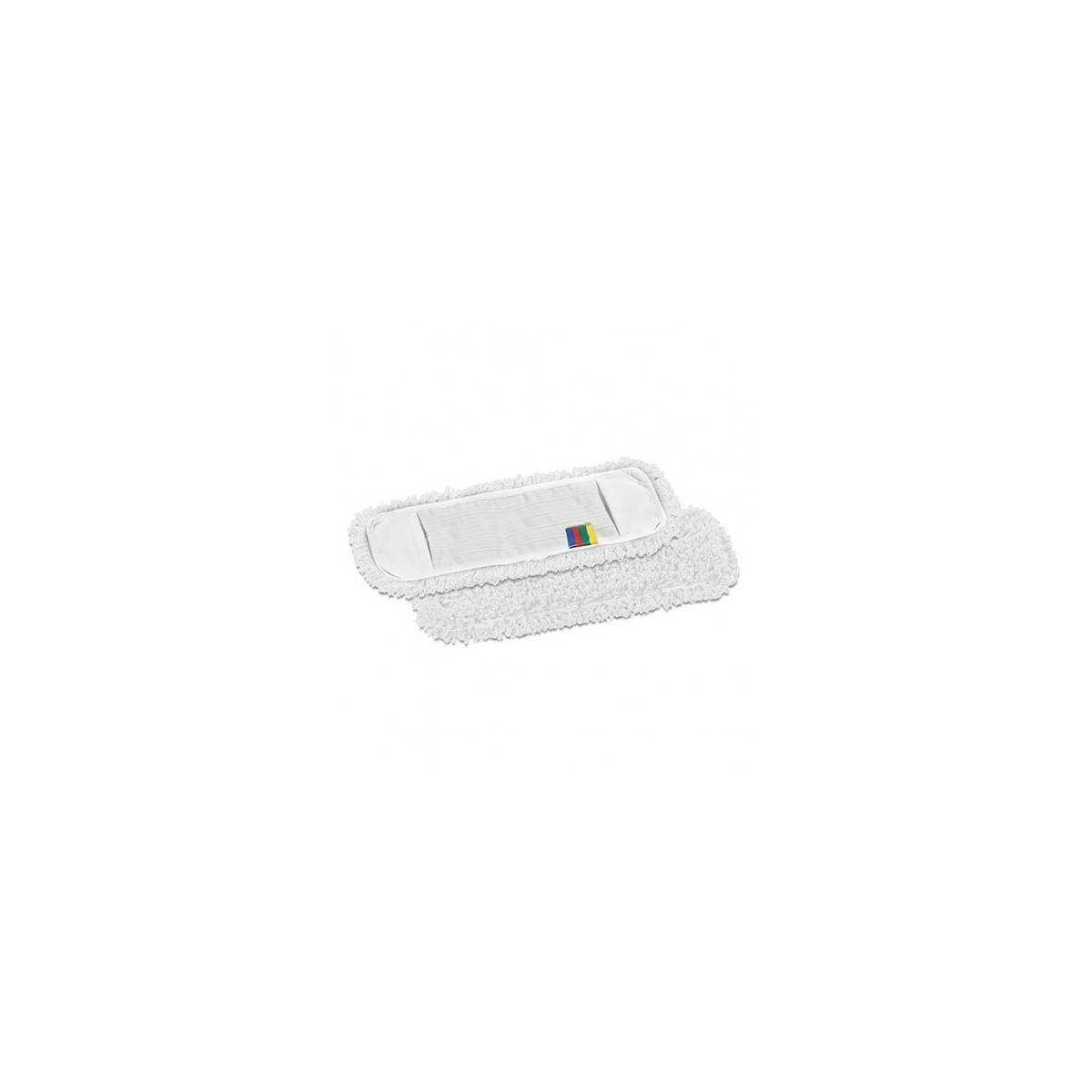 Моп Microriccio Blik микрофибра с карманами 40см (Цвет белый) 476 TTS
