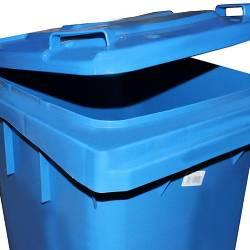 Контейнер для мусора 120л (J0120 BEBE) (Синего цвета) J0120 BEBE Mar Plast