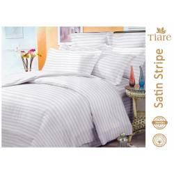 Комплект постельного белья Satin Stripe White-57