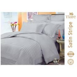 Комплект постельного белья Satin Stripe Gray-56