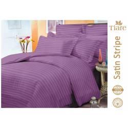 Комплект постельного белья Satin Stripe Violet-55