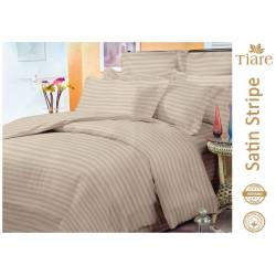 Комплект постельного белья Satin Stripe Cream-54