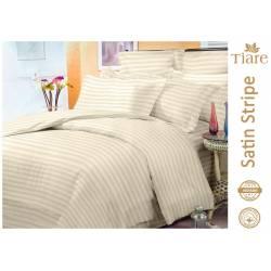 Комплект постельного белья Satin Stripe Vanilla-52