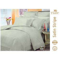 Комплект постельного белья Satin Stripe Oliva-51