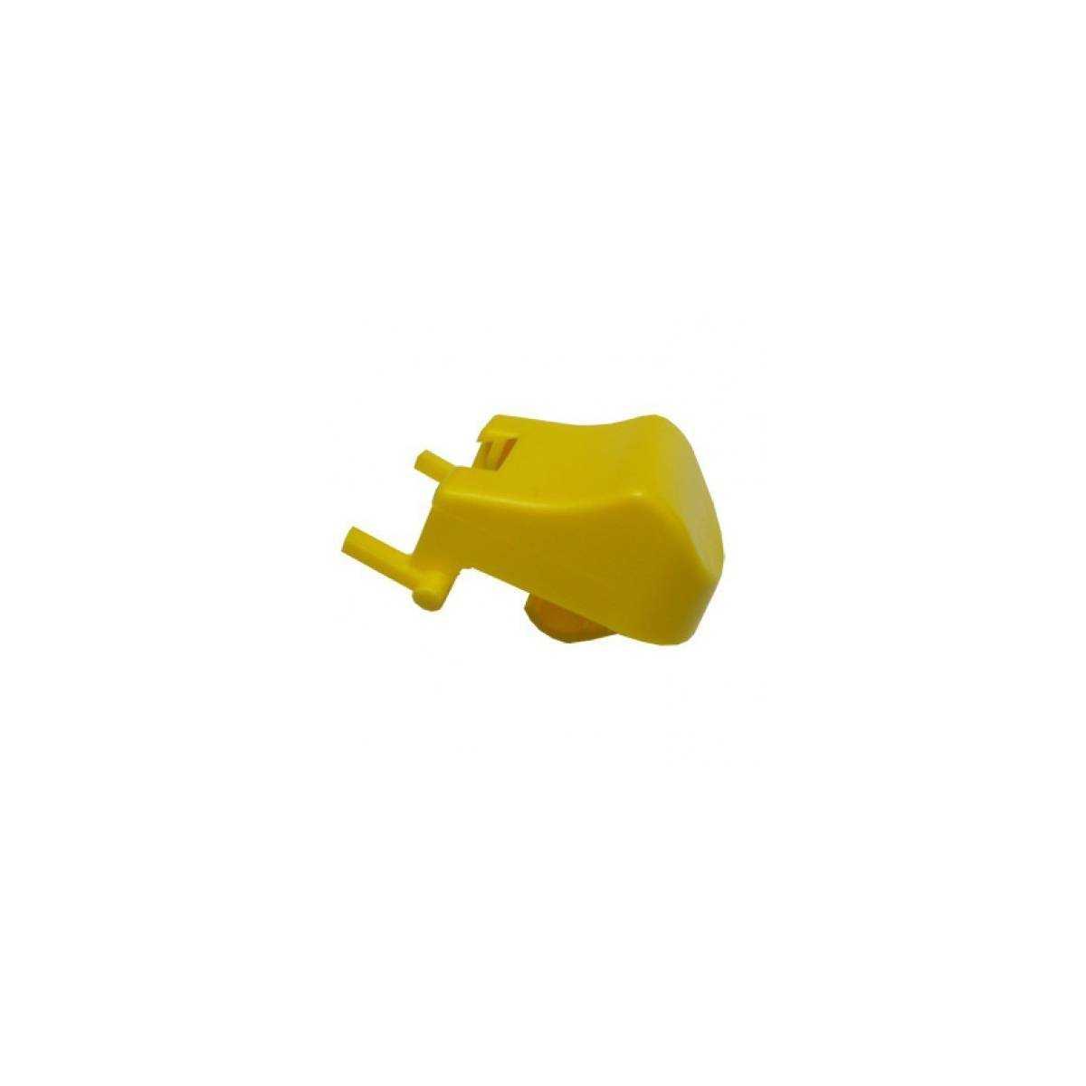 Кнопка желтая для основы S030569 TTS